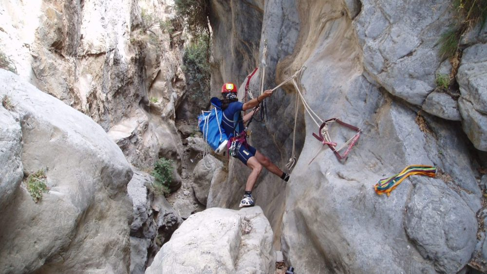 Canyoning Family Adventure in Crete