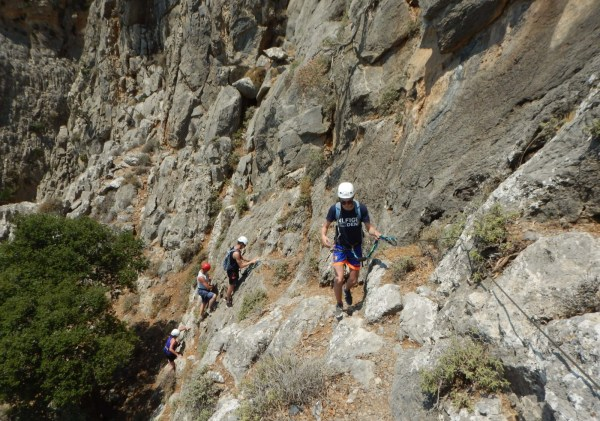 A Via Ferrata for Families in Crete