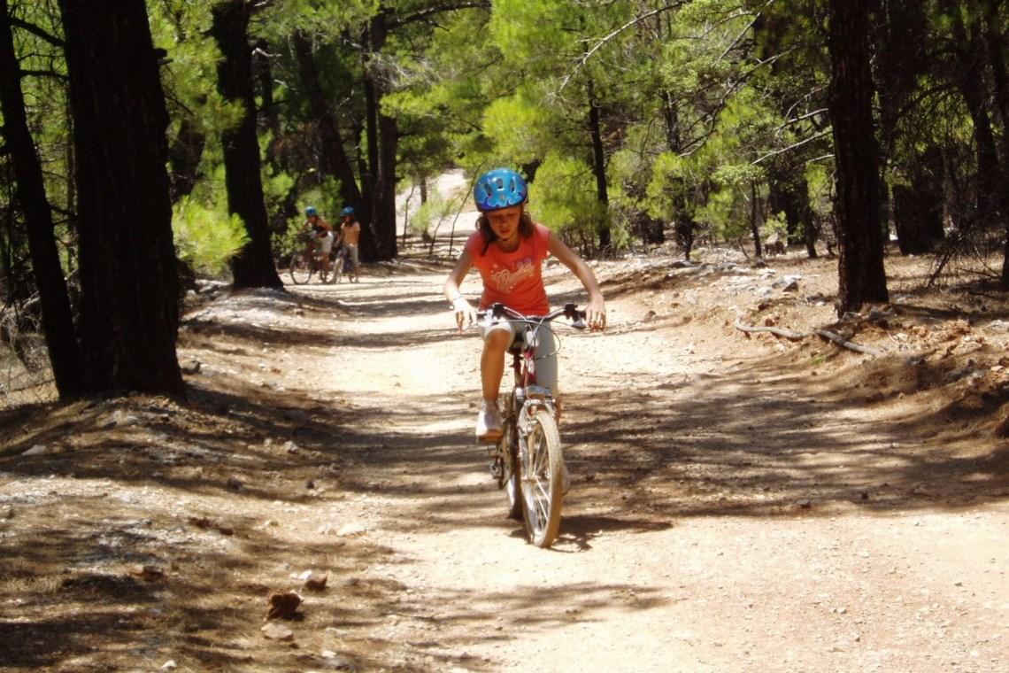 outdoor activities crete kids love greece mountain biking for families