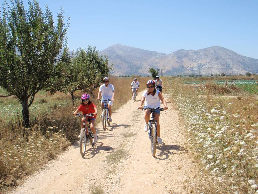 mountain biking for families outdoor activities crete kids love greece