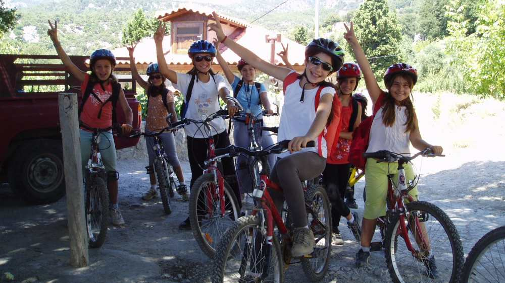 Mountain Biking for Families around the Lassithi Plateau, Crete