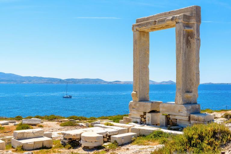 Portara at the Temple of Apollo in Naxos