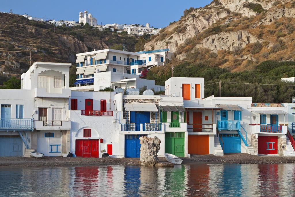 Milos island family trip KidsLoveGreece