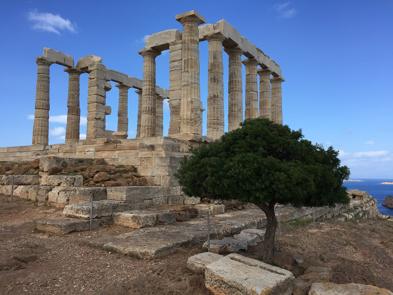 Percy Jackson Tour of Cape Sounion