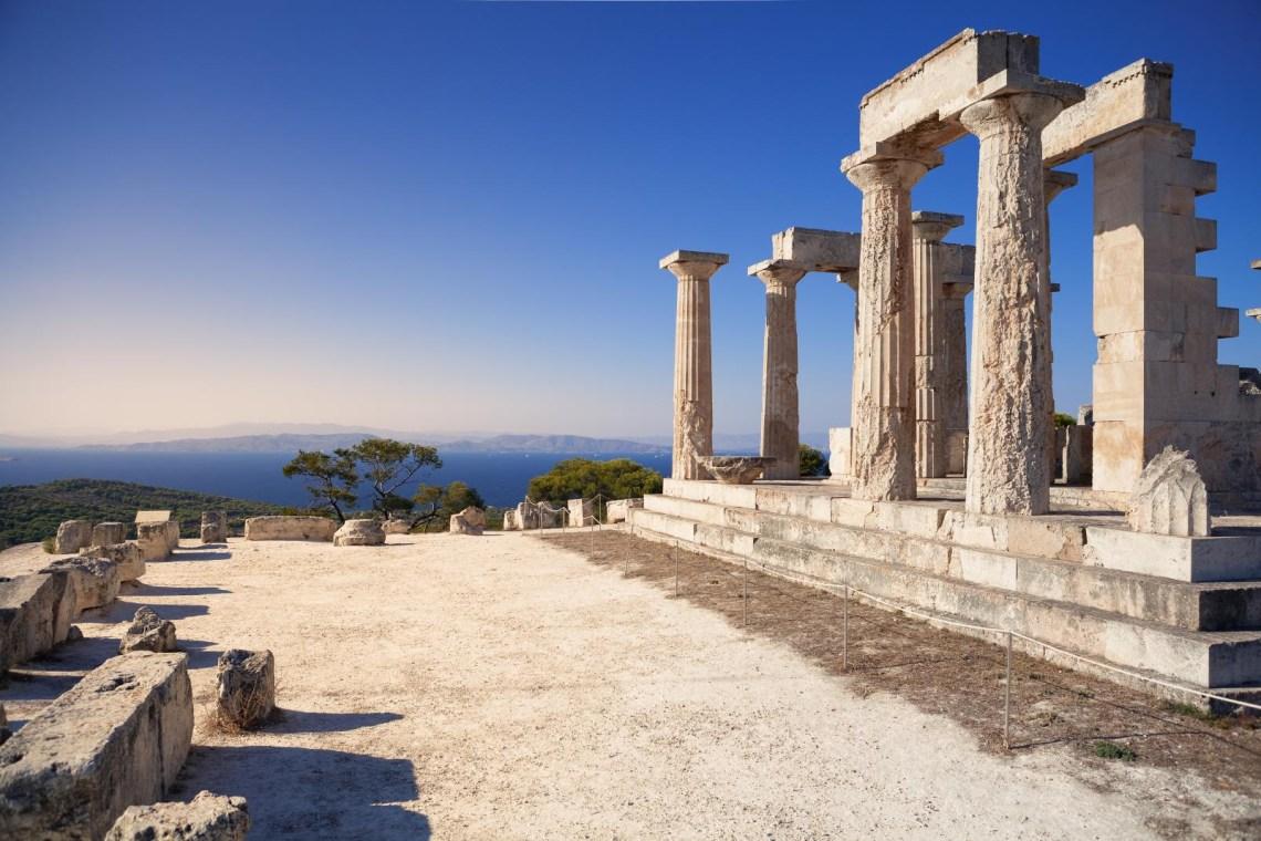 Afea Aegina island