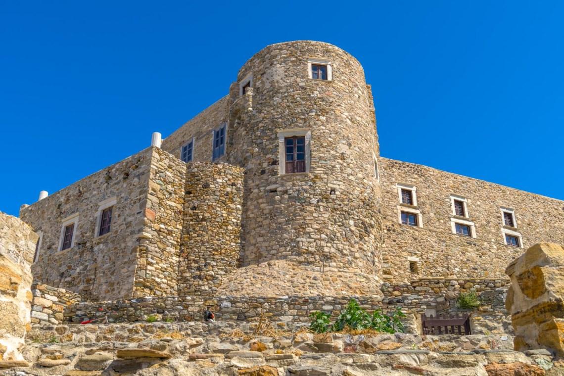 Naxos castle exterior