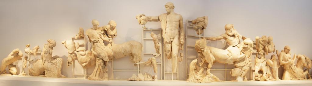 ancient Olympia museum KidsLoveGreece.com