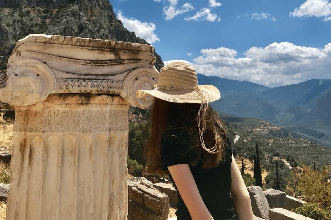Percy Jackson Delphi with family friendly guide 6