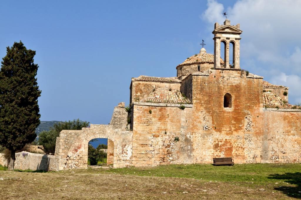 Niokastro castle area at Pylos of Peloponnese in Greece DP-min castle