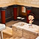 The Palace of Knossos for families