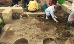 Be an archaeologist for a day: Excavation & Mosaic Art