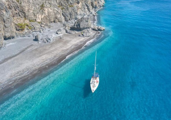 Family Sailing on the South coast of Chania