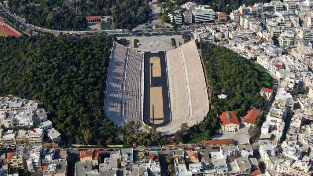 Ancient stadium in Athens