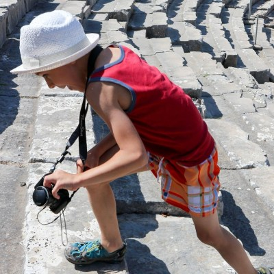 5 Places to Visit in the Peloponnese with Kids if you love Greek Mythology