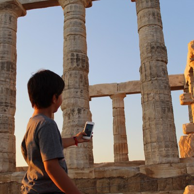 Family Postcards from the  Athens Riviera