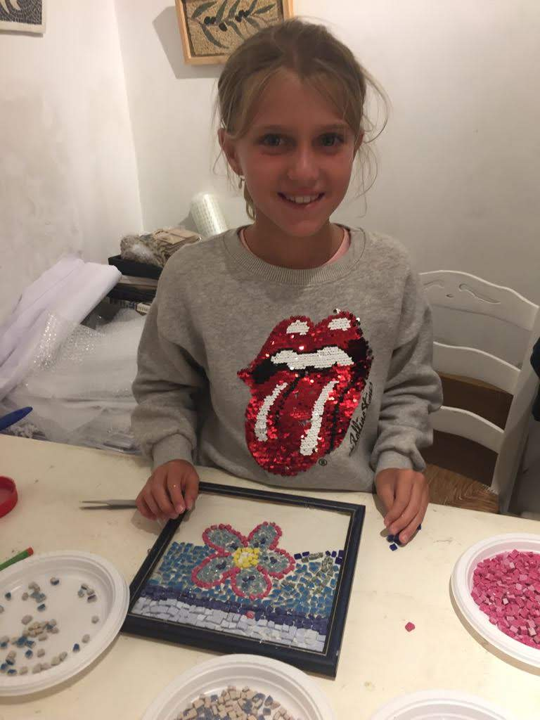 mosaic mykonos workshop kids