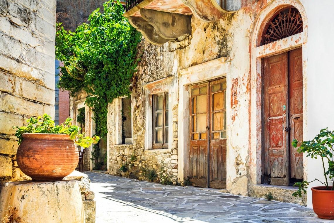Naxos traditional villages SH