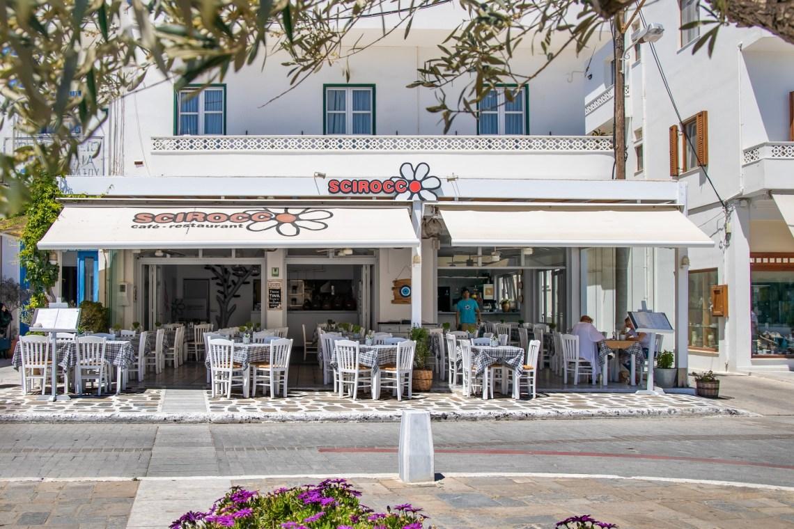restaurant in Naxos