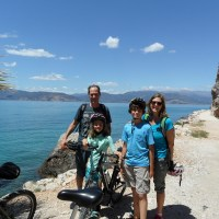 Family Biking Tour in Nafplion