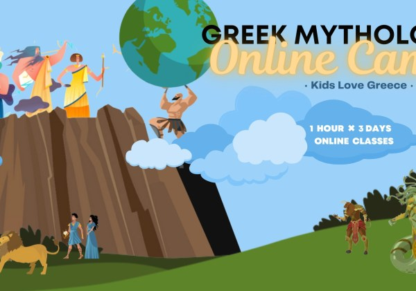 Online Greek Mythology Camp: The Road to Olympus – Bundle of 3 classes