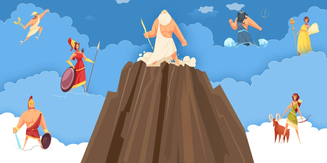 The Greek mythology online course titled demi gods and heroes