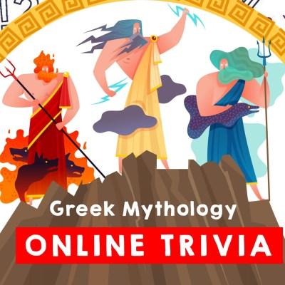 Greek Mythology Online Trivia