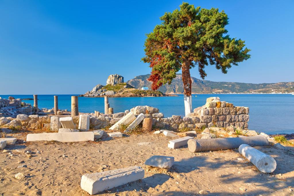Ancient ruins on Kos Island DP-min