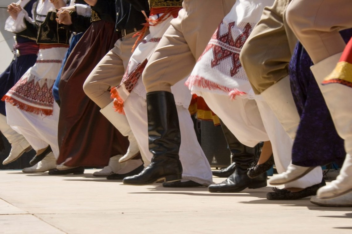 Greek dancing Canva pro