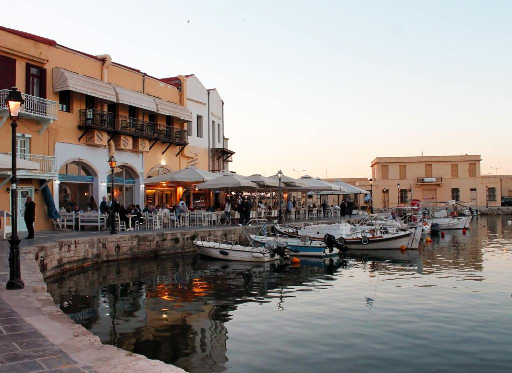 Rethymnon Old Venetian Harbor Crete Family Vacation with Kids Greece