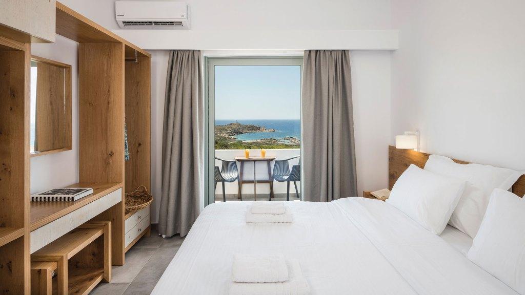 Room Hotel Glykeria Elafonissi Beach Chania Crete Accommodation for families