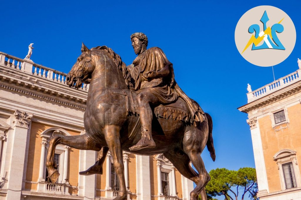 Percy Jackson Tour of Rome for Kids Italy Capitoline Hill and Museum DP