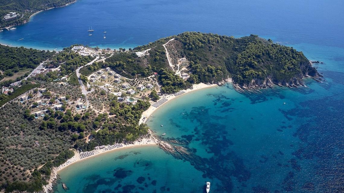 Elivi Resort Skiathos Aerial photo
