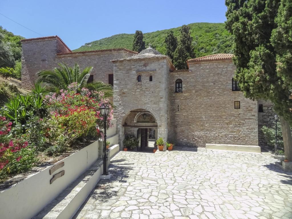 Evangelistria Monastery located at Skiathos DP-min