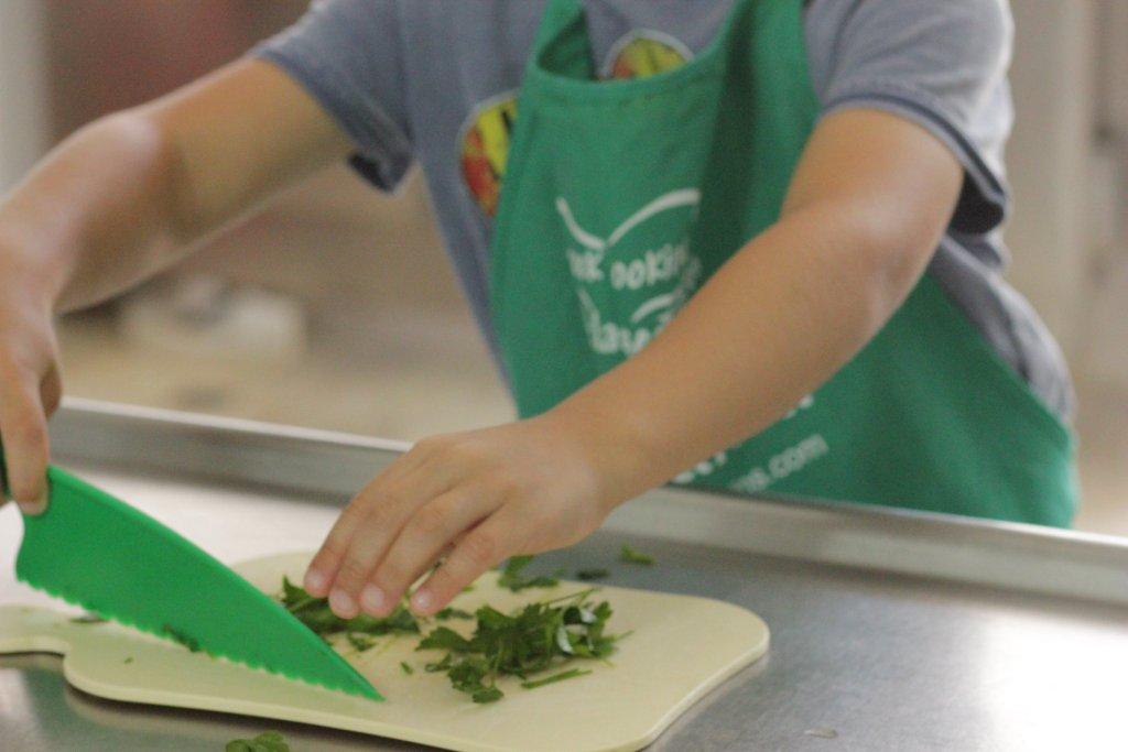 Margarita Cooking Class Paros kid