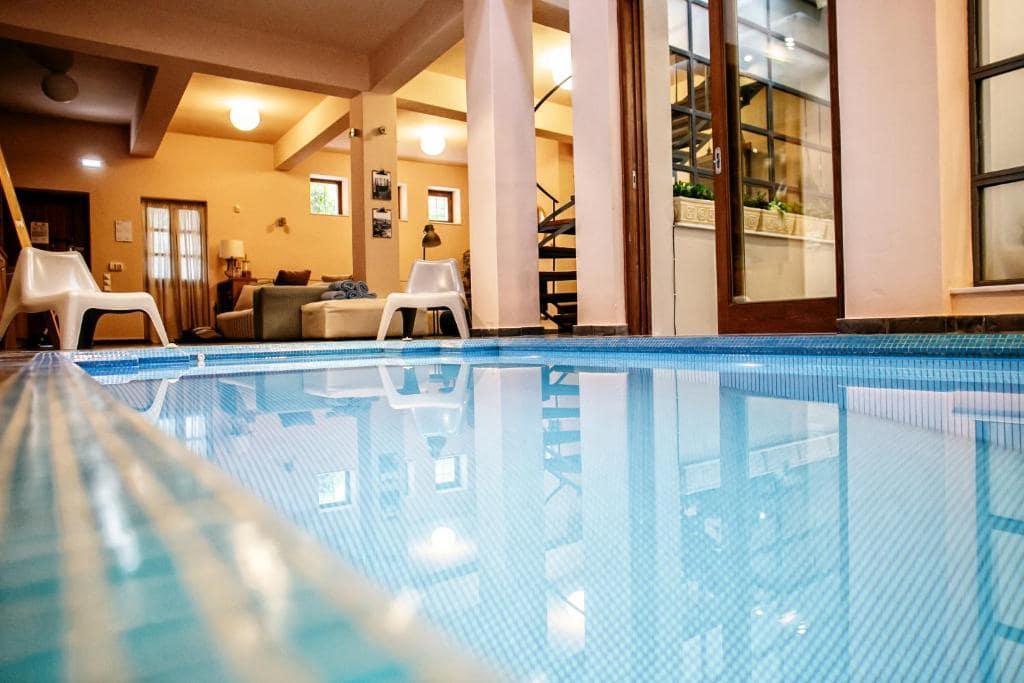 Villa Meliti Athens indoor pool booking-min