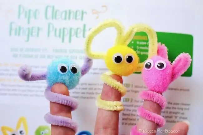 33 Soft And Fuzzy Pom Pom Crafts For Kids Kids Love What