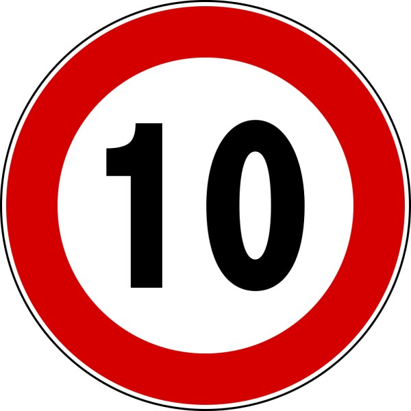 Number 10 - Free Picture of the Number Ten