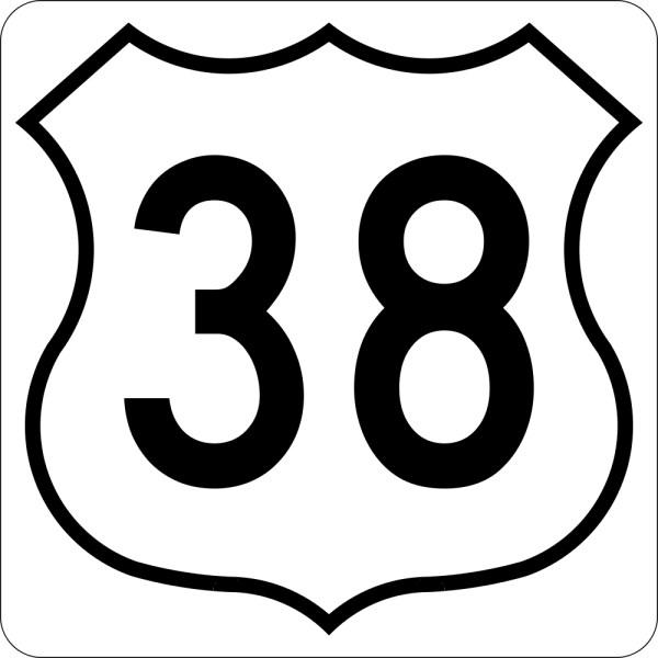 number 38 # 0