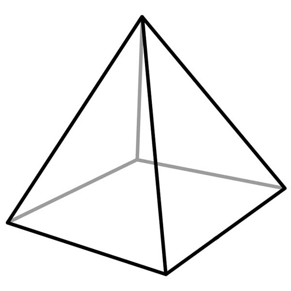 Image result for geometric pyramid