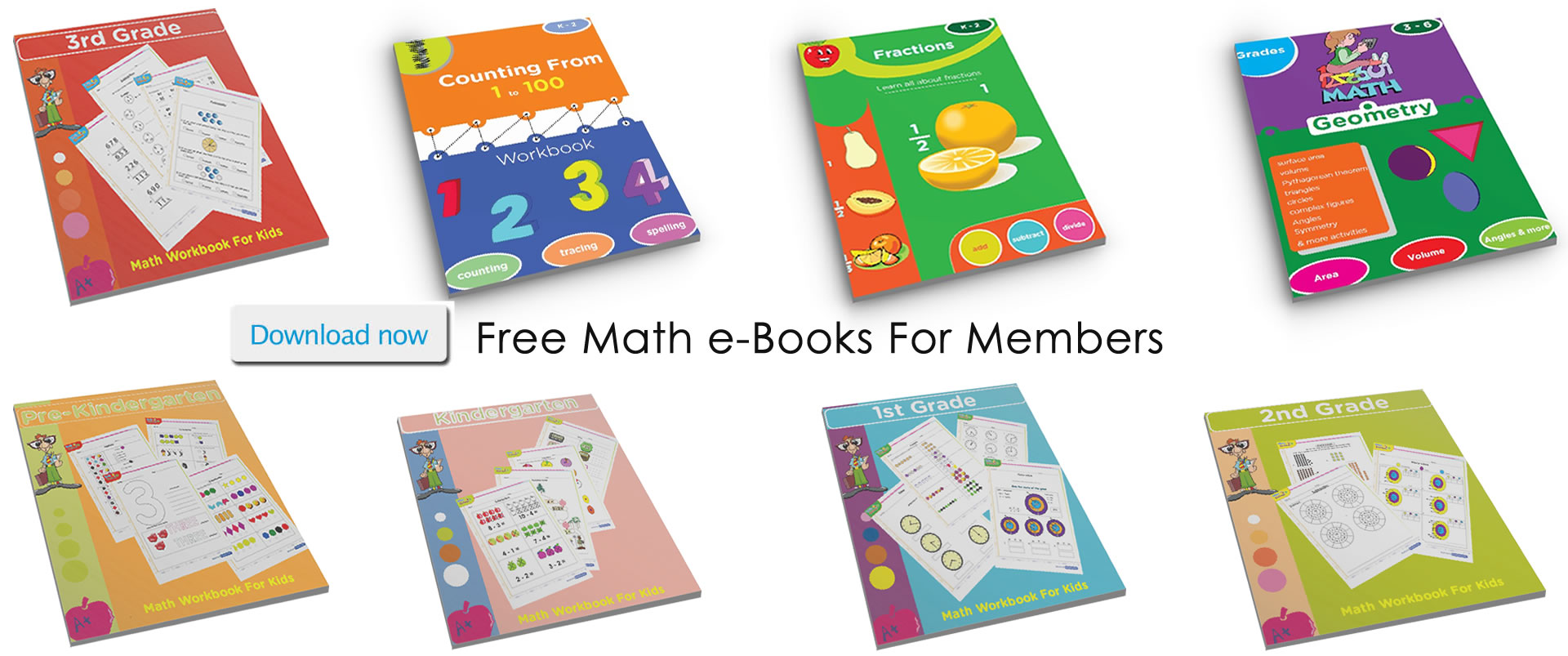 Math Video Tutorials For Kids Pre K Kindergarten 1st Grade 2nd Grade 3rd Grade 4th Grade