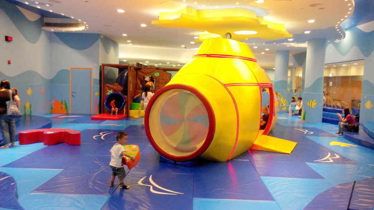 免費親子好去處:調景嶺體育館兒童遊戲室   親子活動 family fun@香港2020