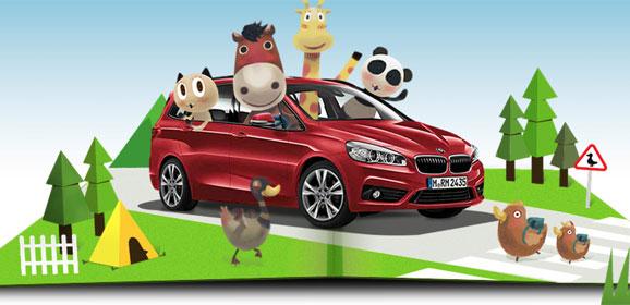 BMW兒童交通安全城2015