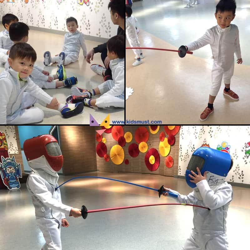 LUDUS Club 「兒童劍擊課程」