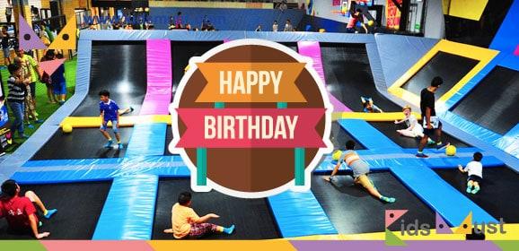 生日優惠:Bounce免費試玩