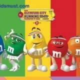 免費親子活動:「Running M&M'S」優先跑@奧海城 [9-10/7/2016]