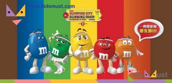 「Running M&M'S」優先跑