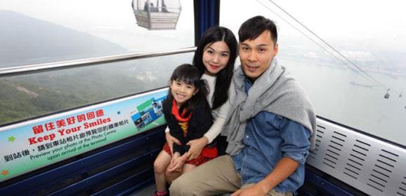 香港小童免費乘搭昂坪360纜車