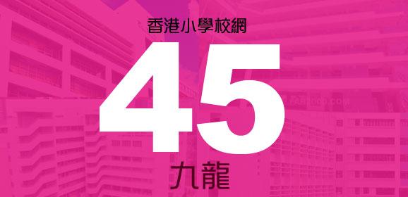 香港小學派位校網-45校網