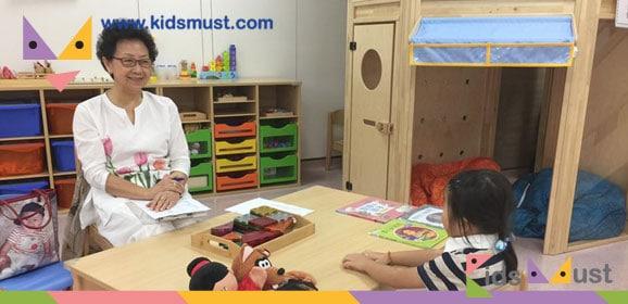 瑪利諾小學前校長周啟華女士主理小一面試體驗日