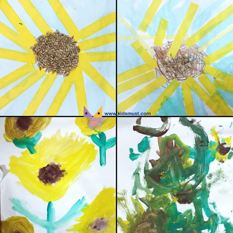 第二節:梵谷向日葵(Sunflowers)